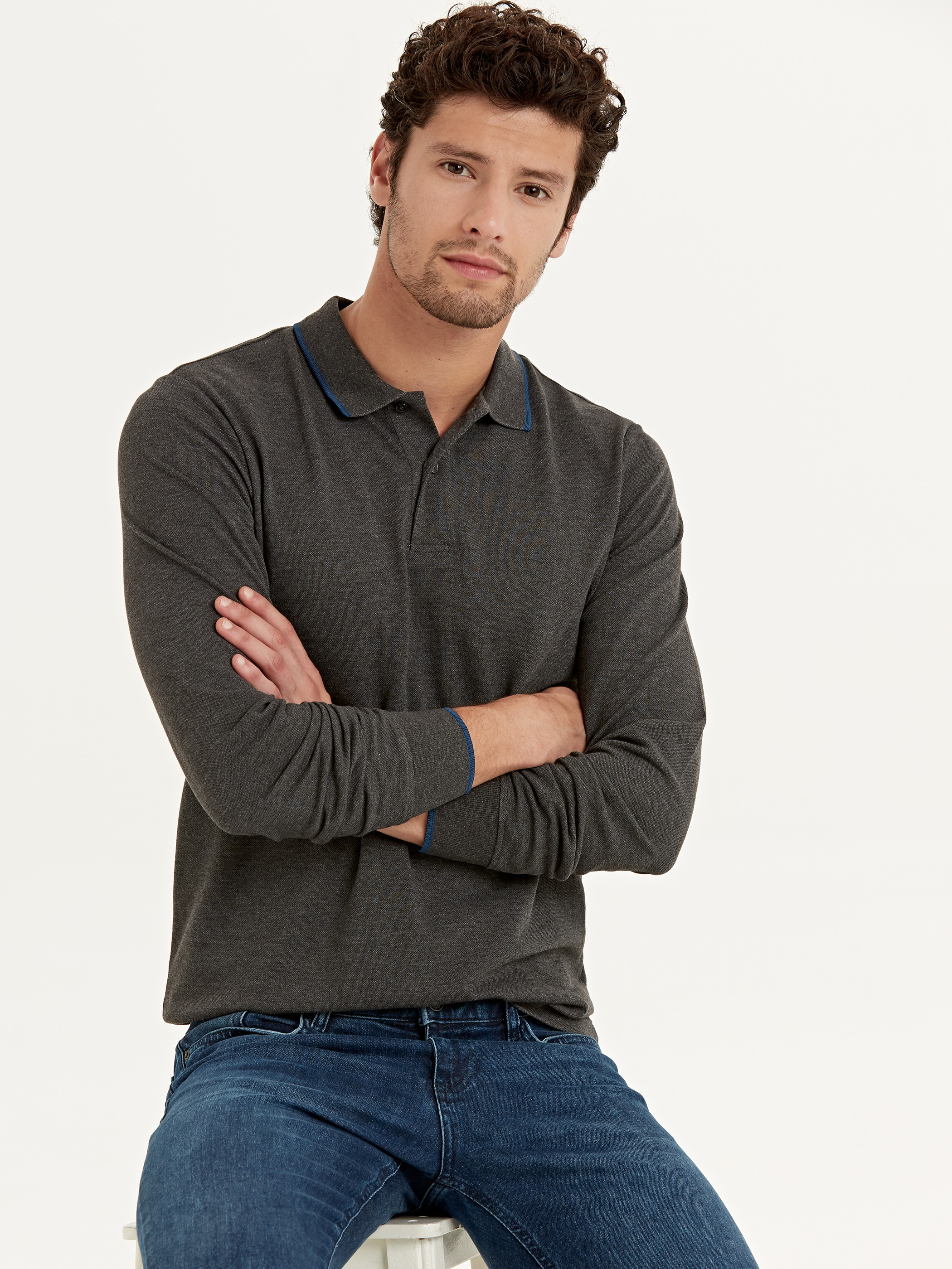 ANTHRACITE - T-Shirt - 9W9175Z8