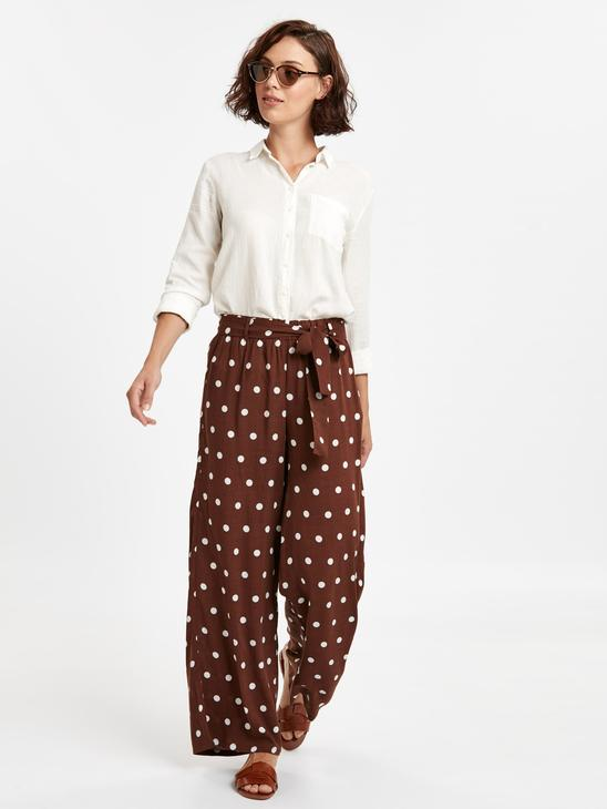 BROWN - Trousers - 8WI576Z8