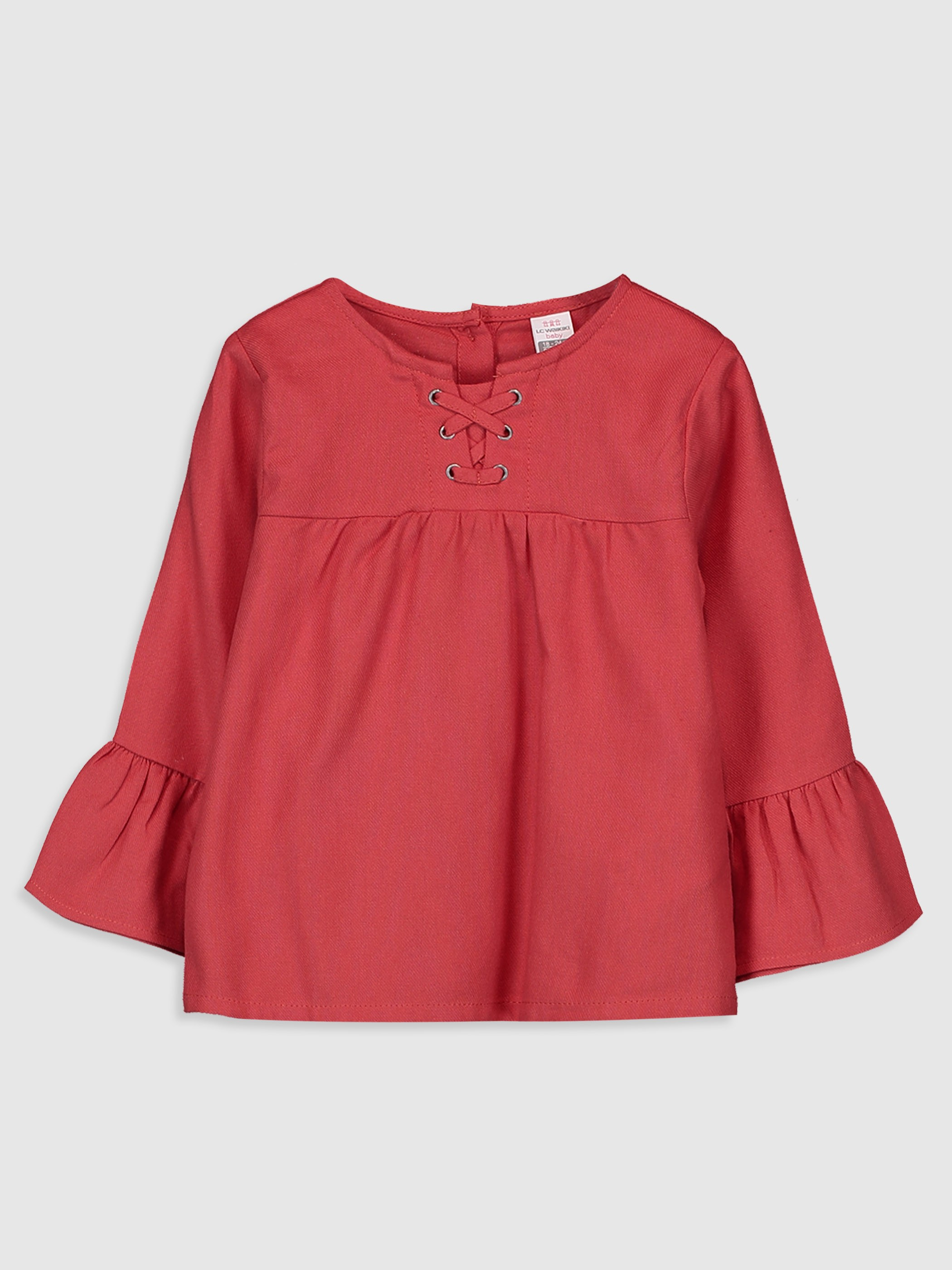 RED - Blouse - 9W9668Z1