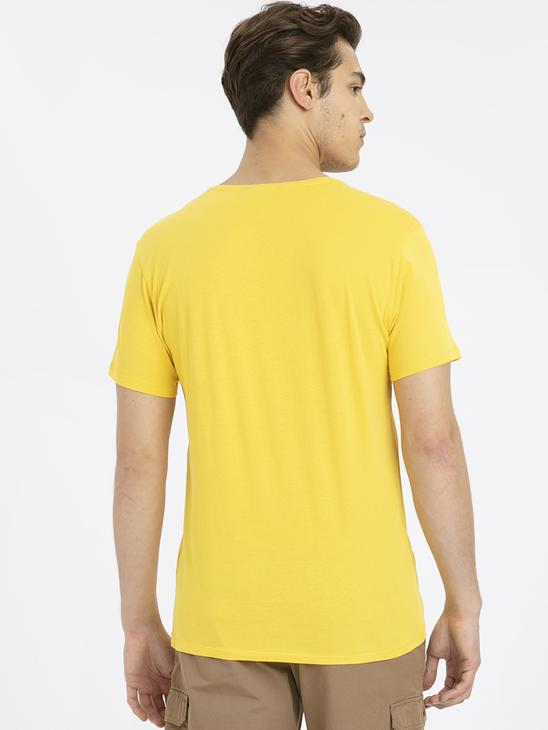 YELLOW - T-Shirt - 9SV403Z8