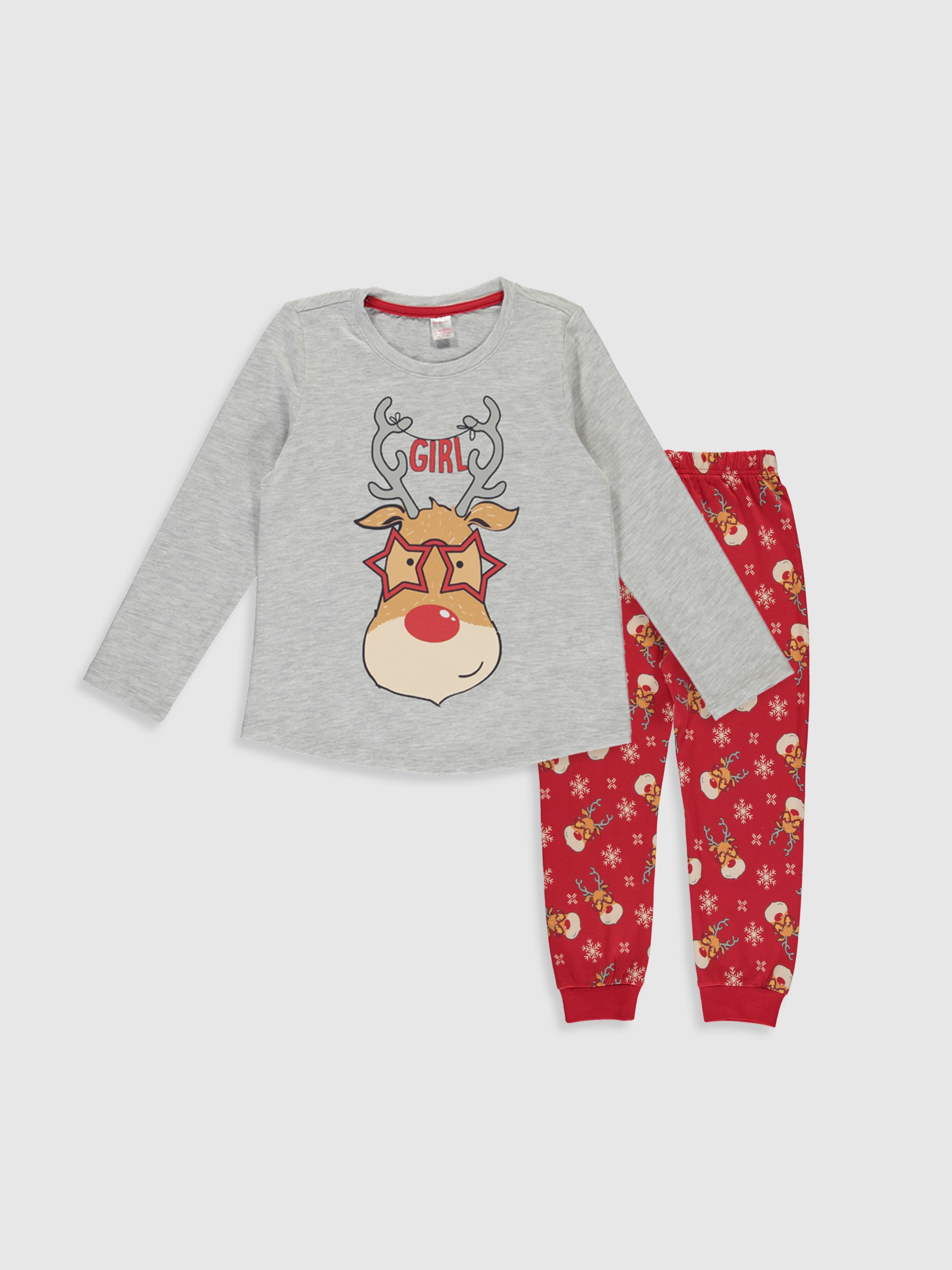 GREY - Pyjamas Set - 9WJ924Z4