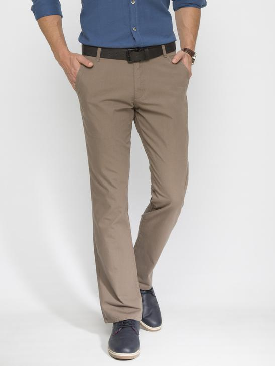 BROWN - Chino Trousers - 6YH458Z8