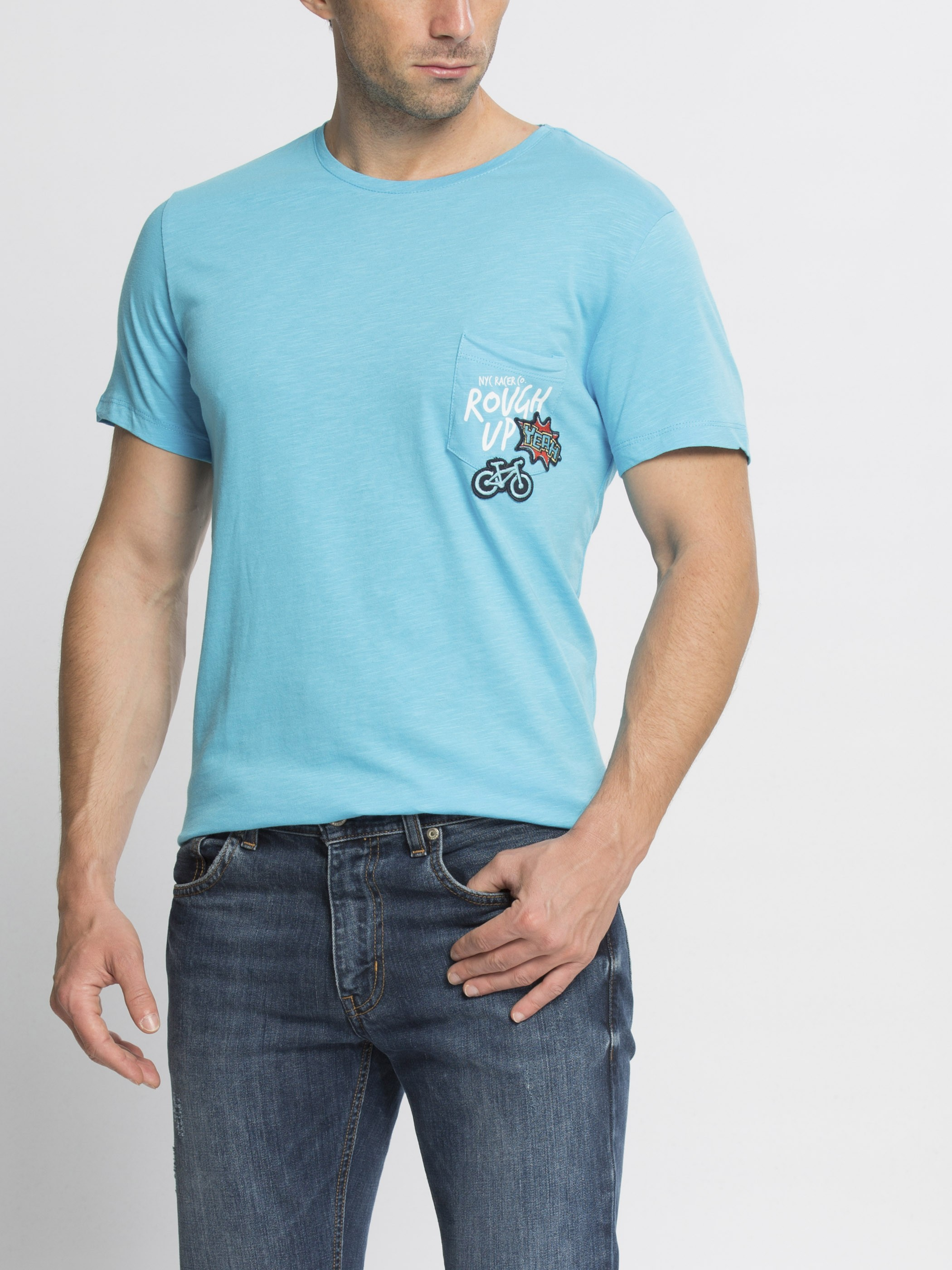 TURQUOISE - T-Shirt - 6YH935Z8