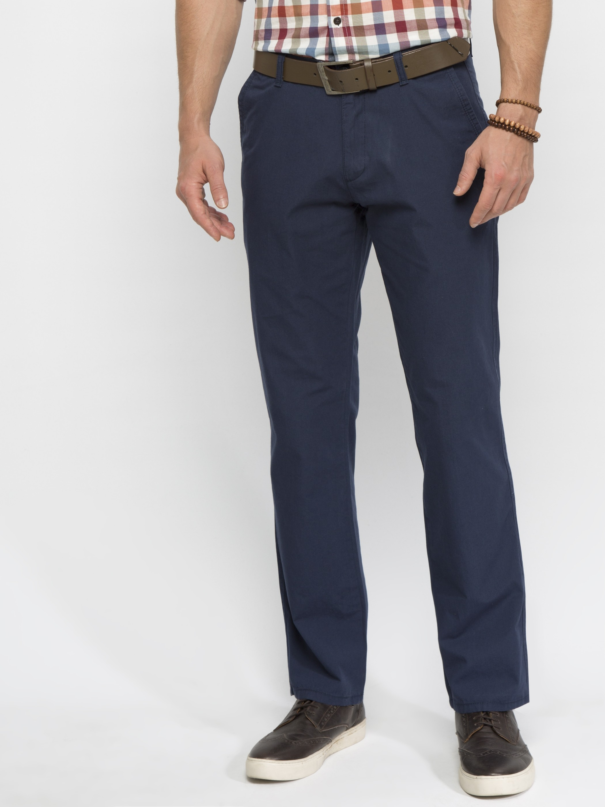 NAVY - Chino Trousers - 6YH458Z8