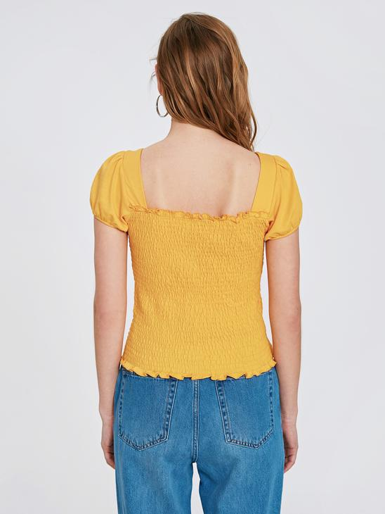 YELLOW - T-Shirt - 9SV925Z8