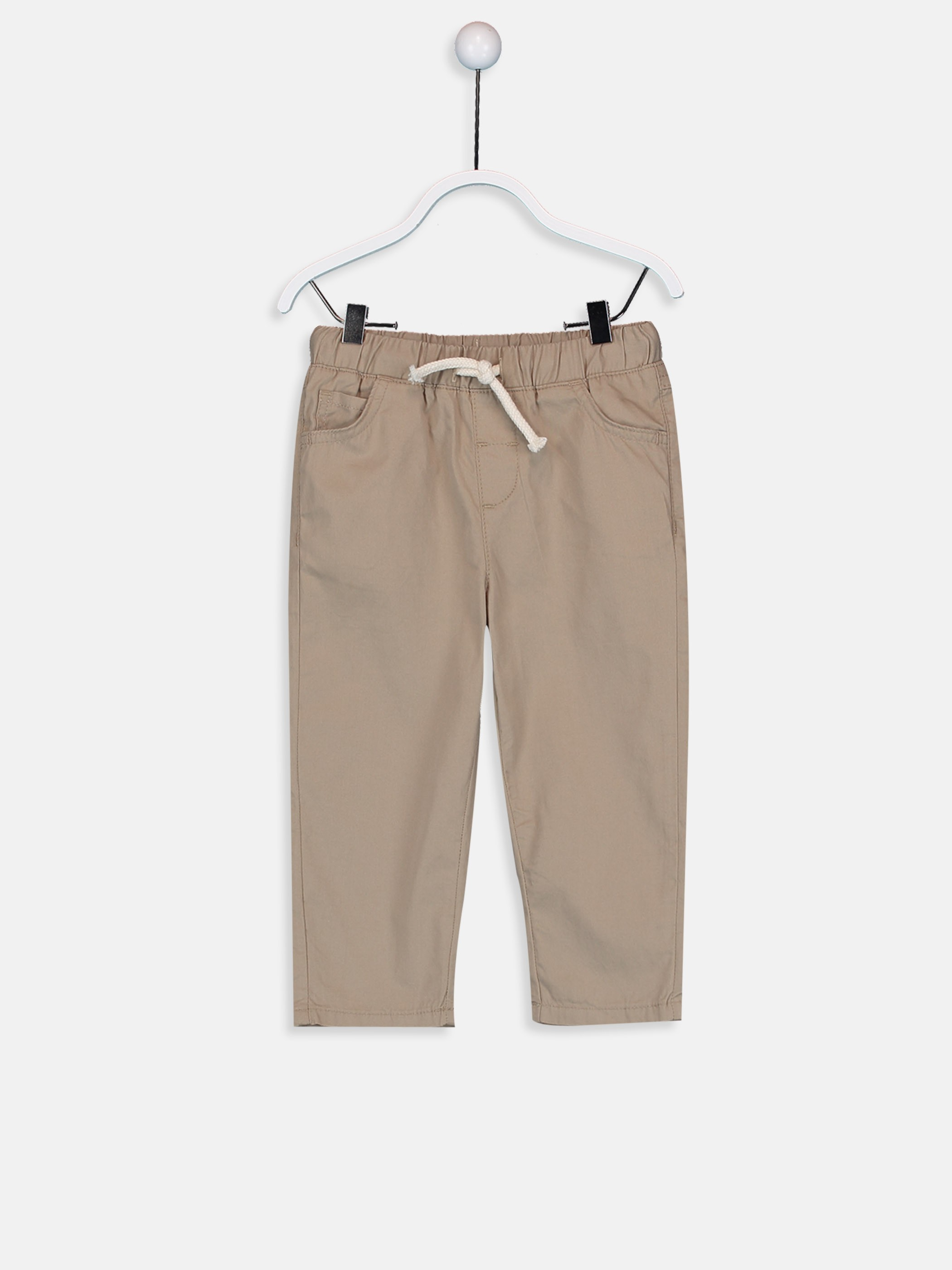 BEIGE - Trousers - 9SY010Z1