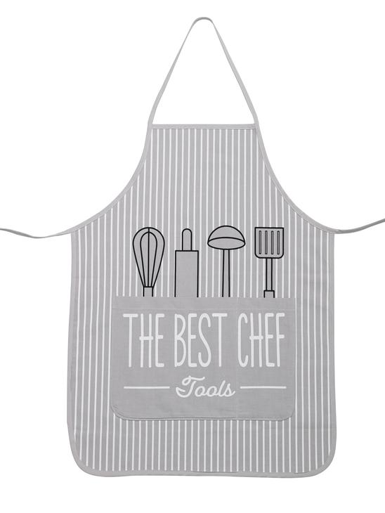 GREY - Kitchen Apron - 9WK814Z8