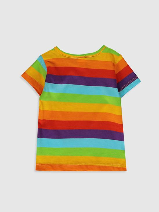 RED - Baby Girl's Striped T-Shirt - 9SV514Z1