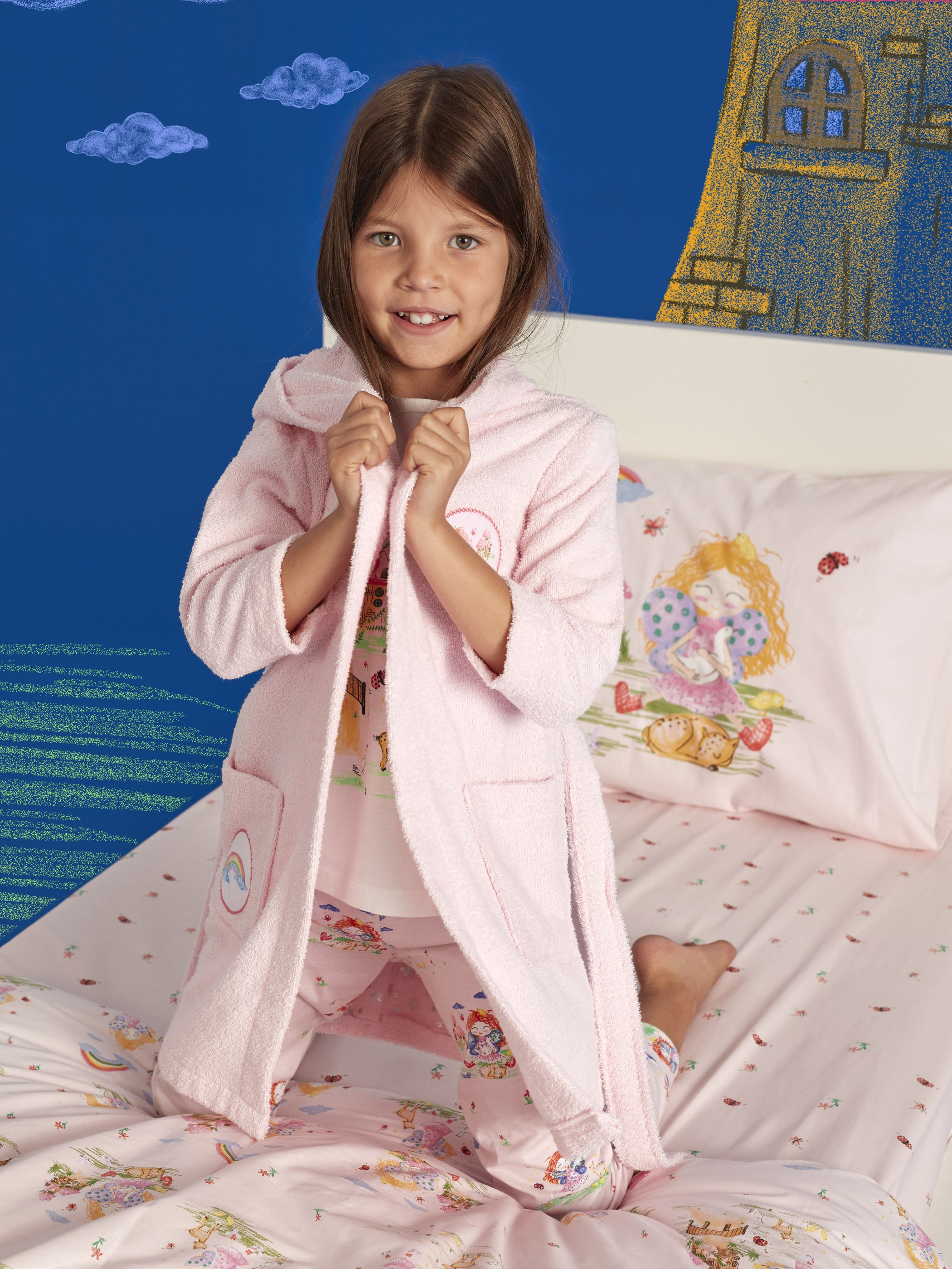 PINK - Kids Bathrobe - 9WL453Z4