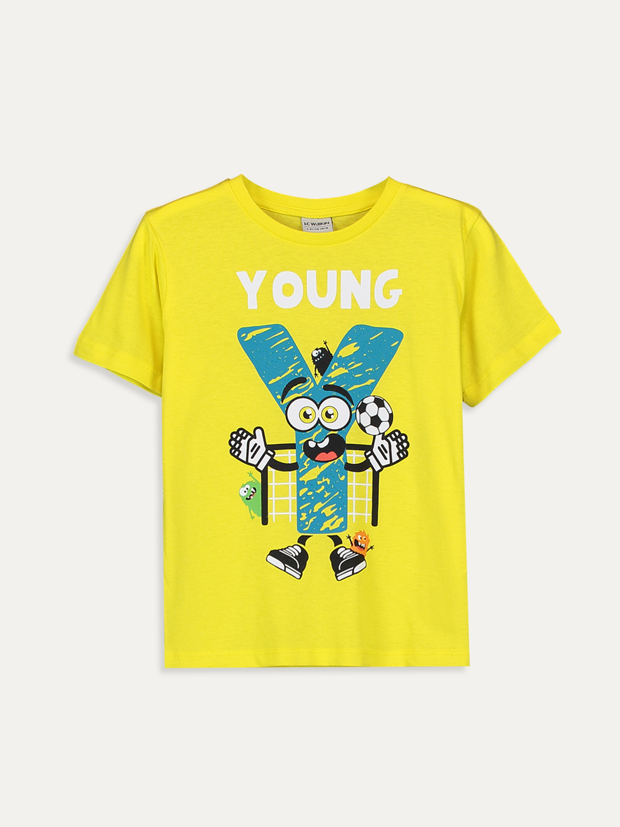 YELLOW - T-Shirt - 9SA199Z4