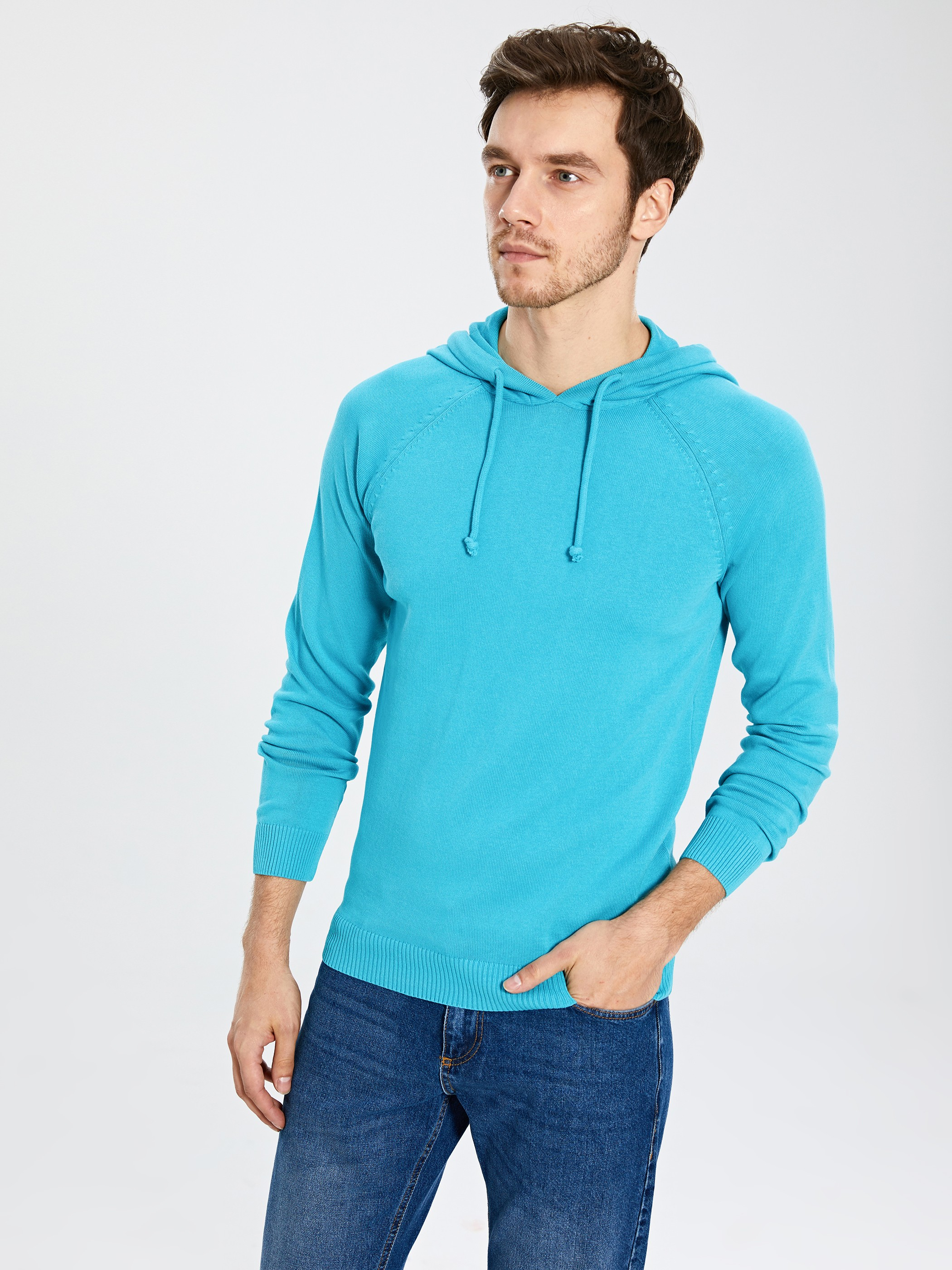 TURQUOISE - Jumper - 0S0790Z8
