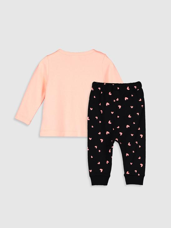 PINK - Baby Girl's Printed Pyjamas Set - 9WM534Z1