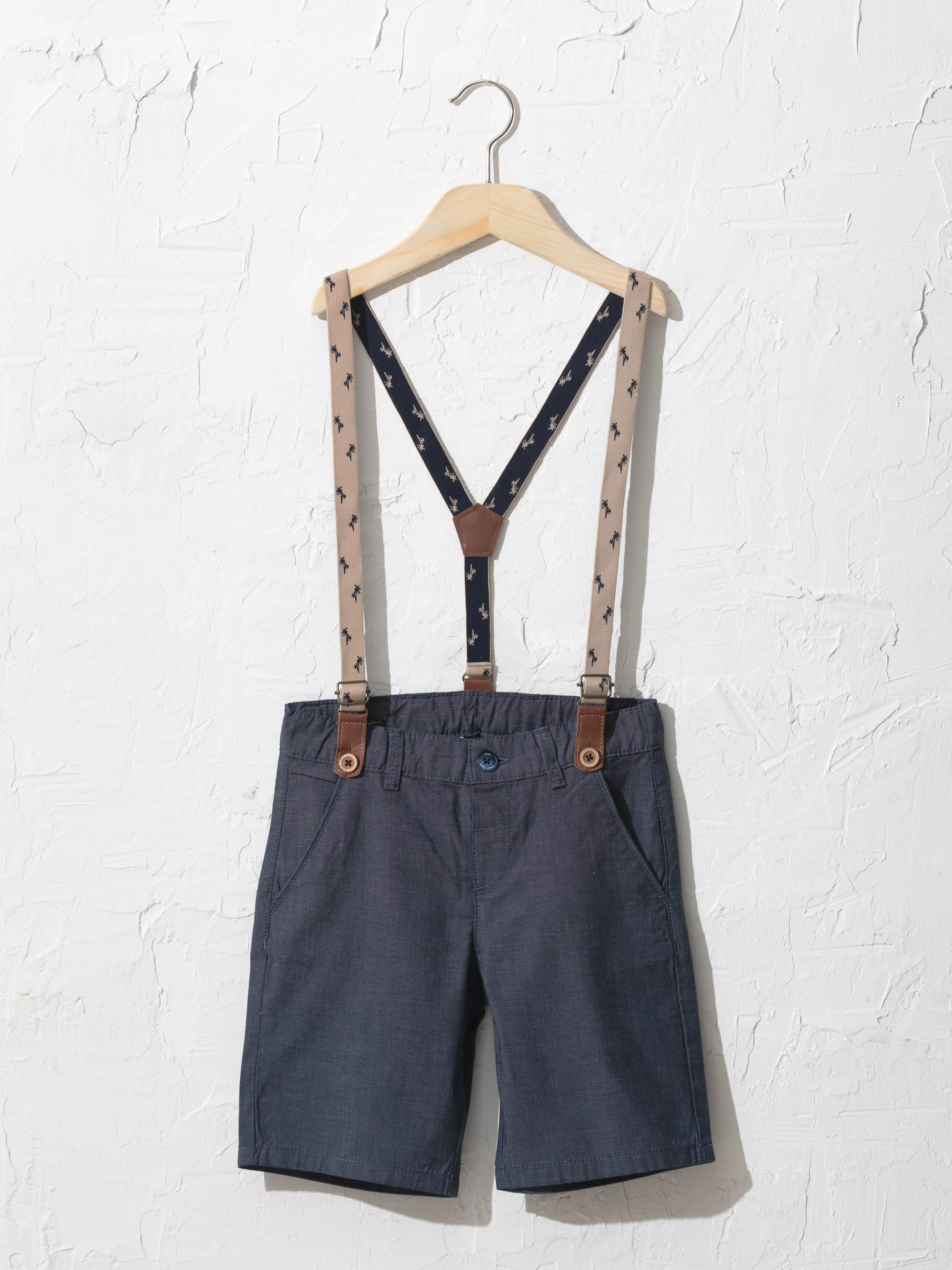 NAVY - Boy Shorts and Trousers Strap - 0SR587Z4