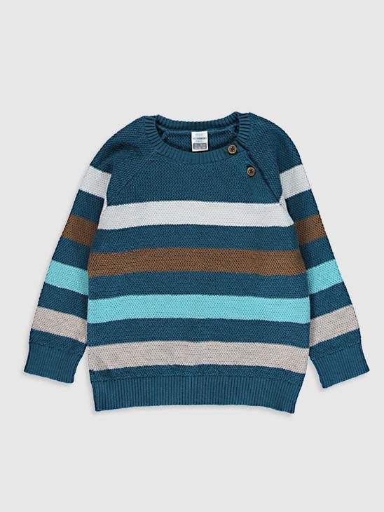 TURQUOISE - Baby Boy's Tricot Jumper - 0SR701Z1