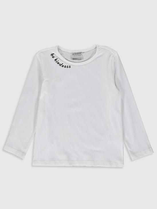 WHITE - Girl's Dress and T-Shirt - 0W7859Z4