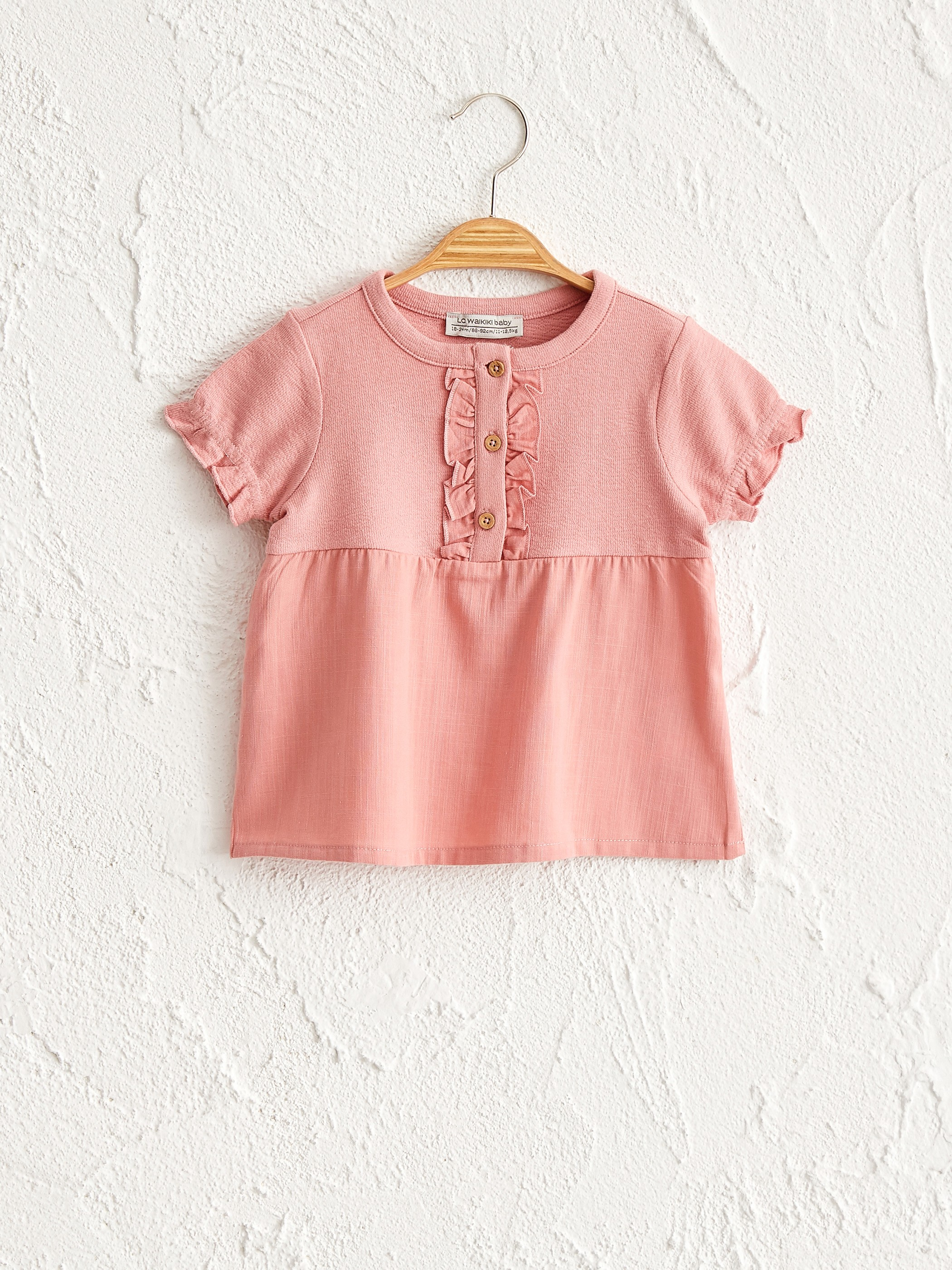 PINK - Baby Girl's T-Shirt - 0SS549Z1