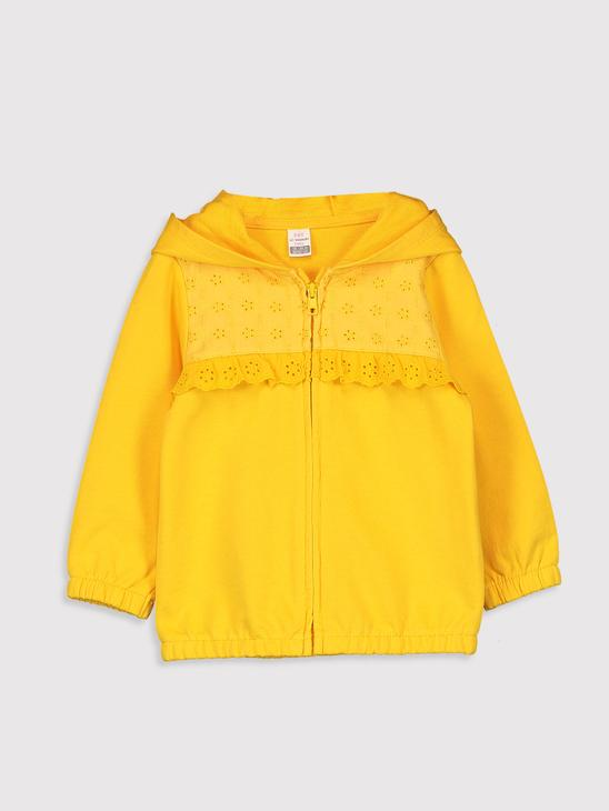 YELLOW - Cardigan Track Top - 0WH258Z1