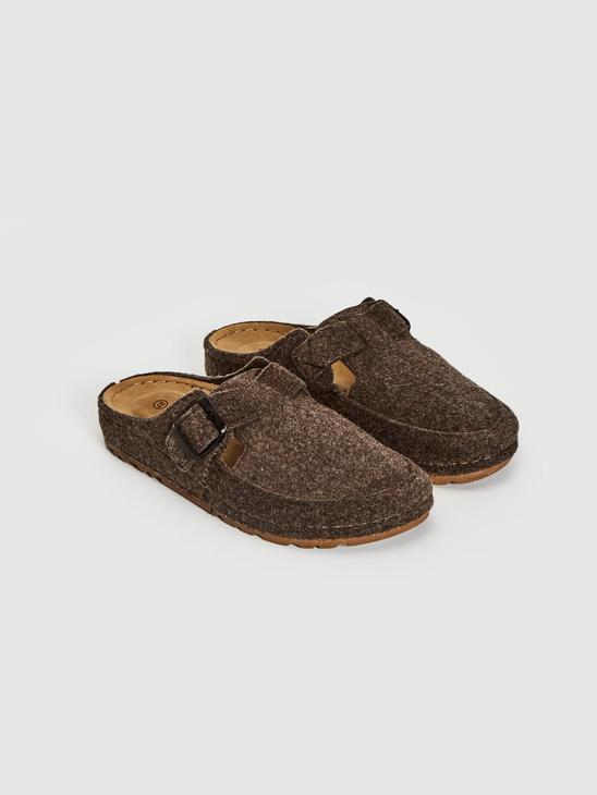 BROWN - Women's Home Slippers - 0WHR25Z8