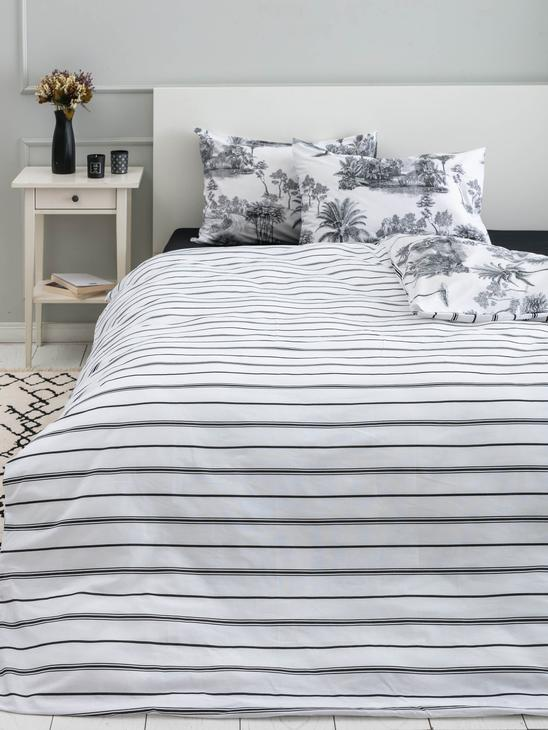 MIX - Double-Sided Double Duvet Cover Set - 0WGB04Z8