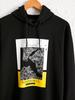 BLACK - Standard Pattern Hooded Istanbul Printed Sweatshirt Father and Son Matching - 0SU327Z8
