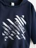NAVY - Baby Boy's Printed Sweatshirt Father and Son Matching - 0SU619Z1