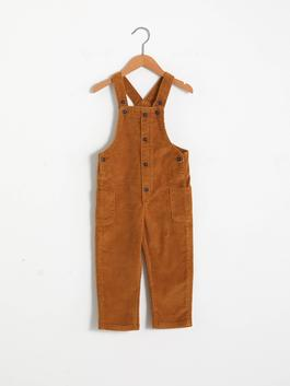 BROWN - Baby Boy's Overalls - S1DQ86Z1