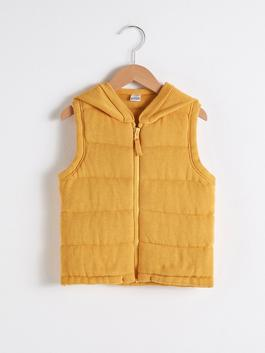 YELLOW - Baby Boy's Tricot Vest