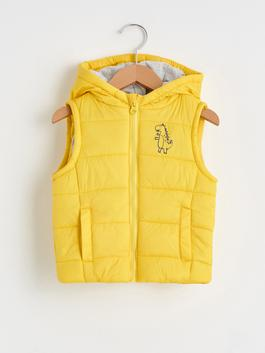 YELLOW - Baby Boy's Zip-Down Vest
