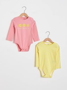PINK - 2-pack Baby Girl's Bodysuit
