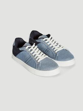 BLUE - Men's Casual Lace-up Trainers