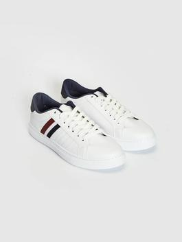 WHITE - Men's Lace-up Sneakers - S18750Z8