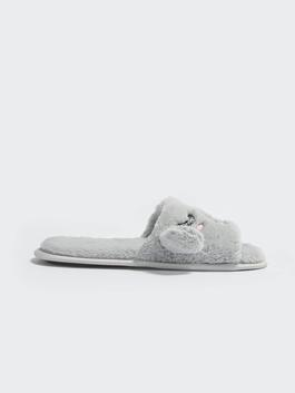 GREY - Women's Embroidered Home Slippers - S1ES66Z8