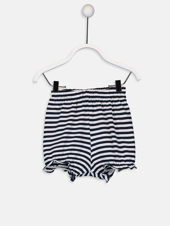 NAVY - Baby Girl's Niloya Figured Cotton T-Shirt and Leggings - 9SU575Z1
