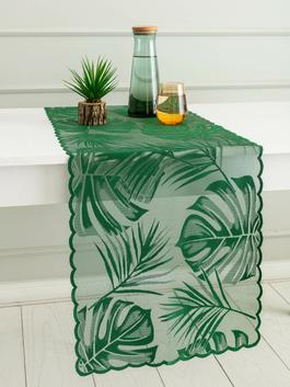 GREEN - Lace Detailed Runner - S1BL58Z8