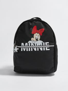 BLACK - Girl Minnie Mouse Licensed Backpack