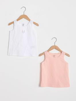 PINK - 2-pack Baby Girl's Tank Top