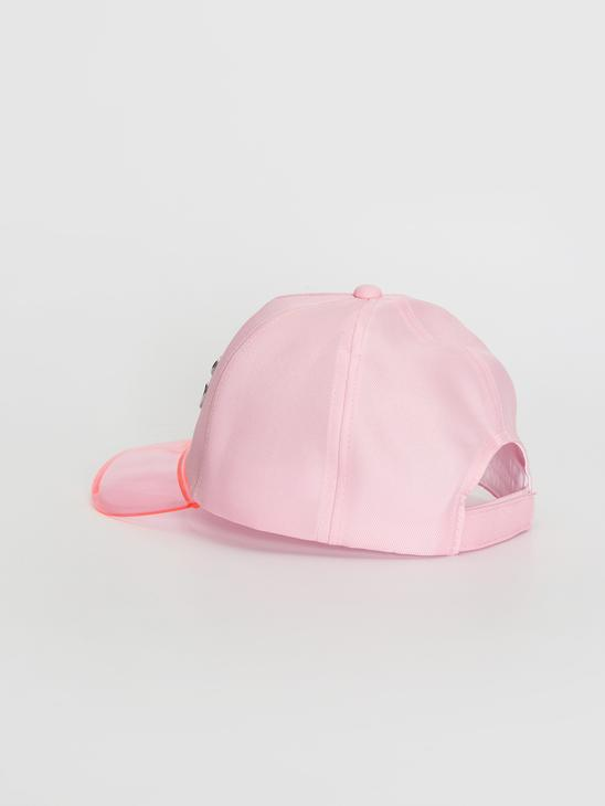 PINK - Girl Hat With Lettering Detail - 0W5716Z4
