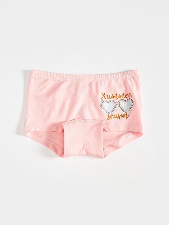 PINK - 3-pack Girl's Cotton Boxers - S17241Z4