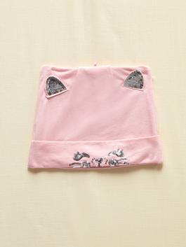 PINK - Girl's Tricot Beret
