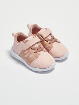 PINK - Baby Girl's Hook and Loop Sneakers