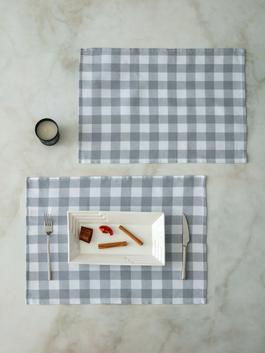 GREY - 2-pack Place Mat - S1BL71Z8