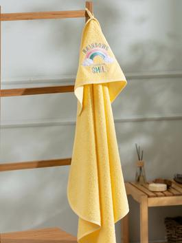 YELLOW - Baby Embroidery Bath Towel - S1BE16Z1