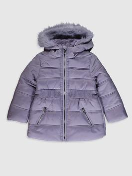 LILAC - Girl's Coat with Hood