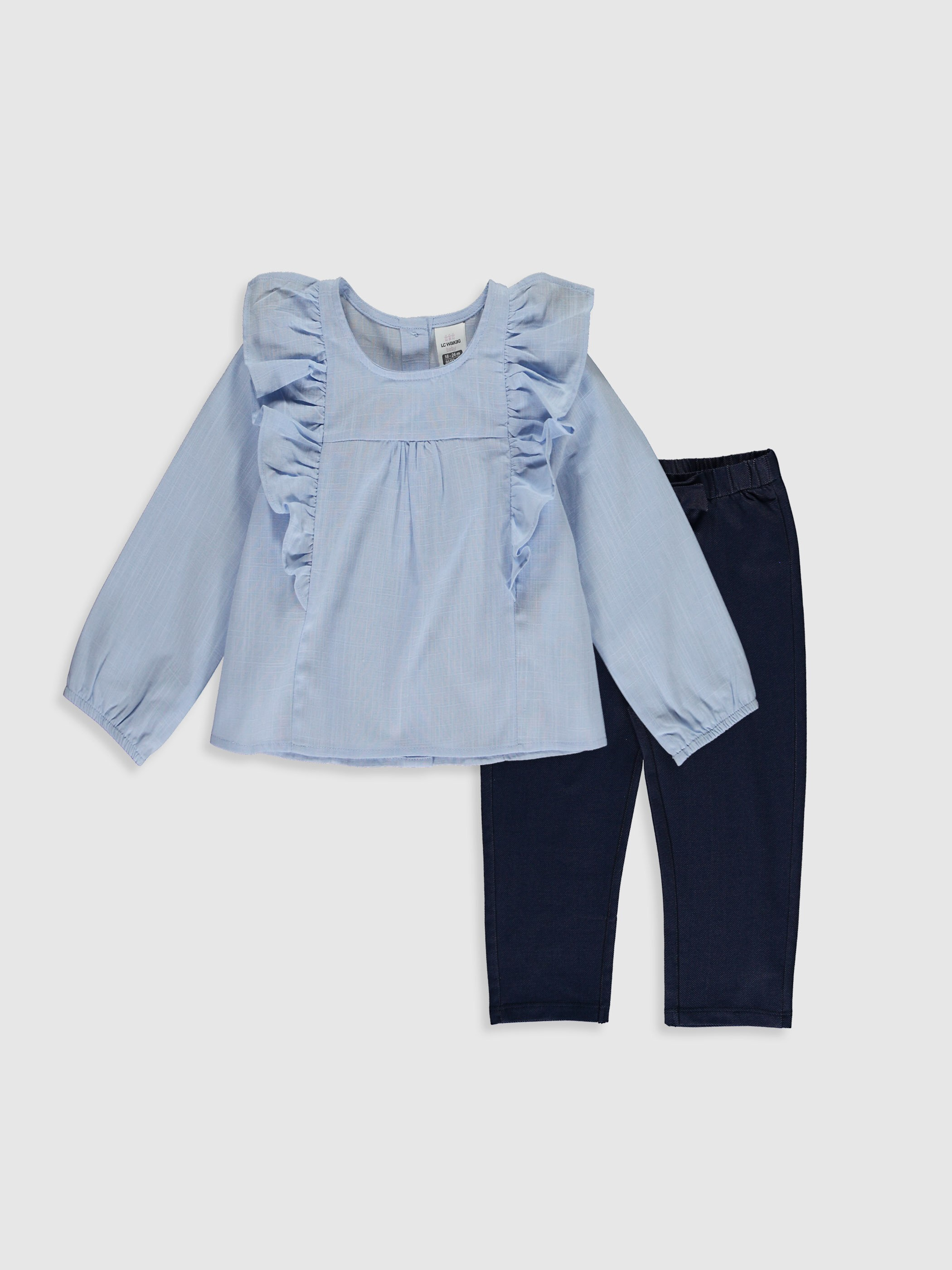 BLUE - 2-pack Baby Girl's Set - 0WAL70Z1