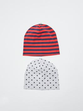 RED - 2-pack Baby Boy's Beret - S10609Z1