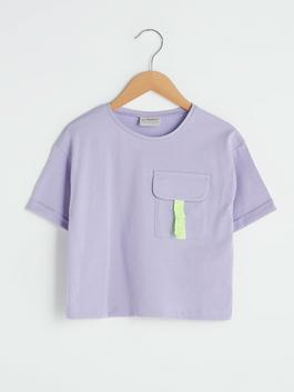 LILAC - Crew Neck Basic Short Sleeve Girls T-Shirt