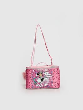 PINK - Girl's Minnie Mouse Printed Lunch Box