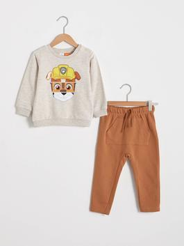GREY - Baby Boy Paw Patrol Printed Suit