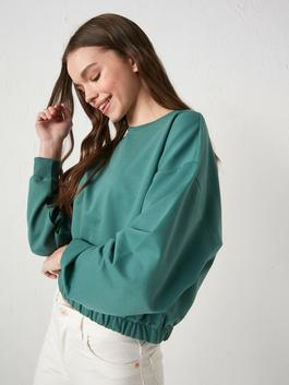 GREEN - Sweatshirt