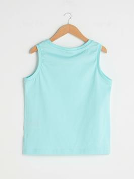 TURQUOISE - Tank Top - S1EF83Z4
